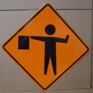 flagger_ahead_symbol_signs