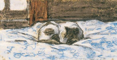 by Claude Monet c. 1865-70