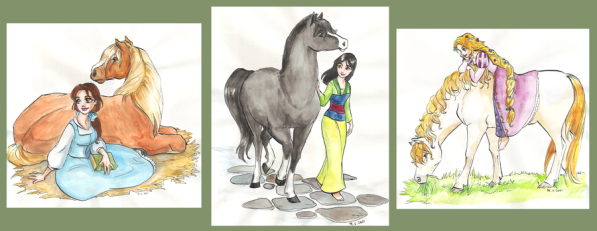 disney_girls_and_horses_by_taijavigilia-d3iytih