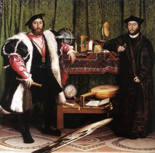"Hans Holbein ""The Ambassadors"""
